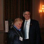 Rep. Rush Holt with Nellie Longsworth, founding president of Preservation Action